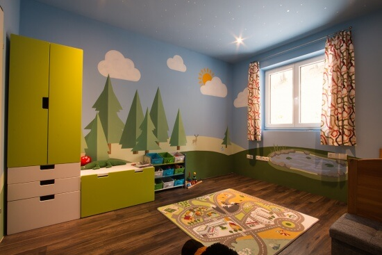 Malermeister Ruprechter Salzburg Kinderzimmer 09